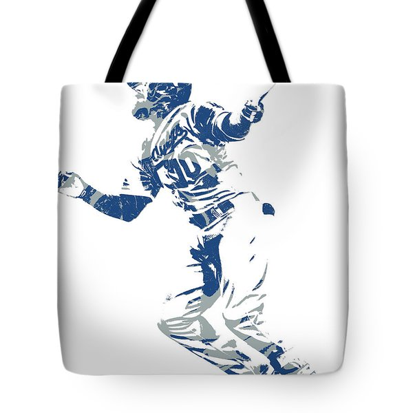 Justin Turner Los Angeles Dodgers World Series Homerun Tote Bag