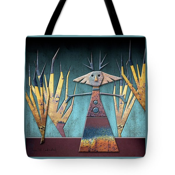 Justine The Goddess Of June Tote Bag by Joan Ladendorf