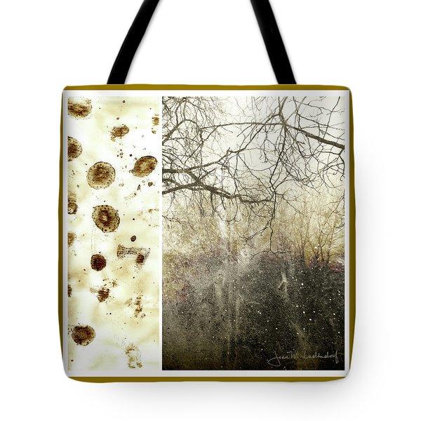 Juxtae #17 Tote Bag by Joan Ladendorf