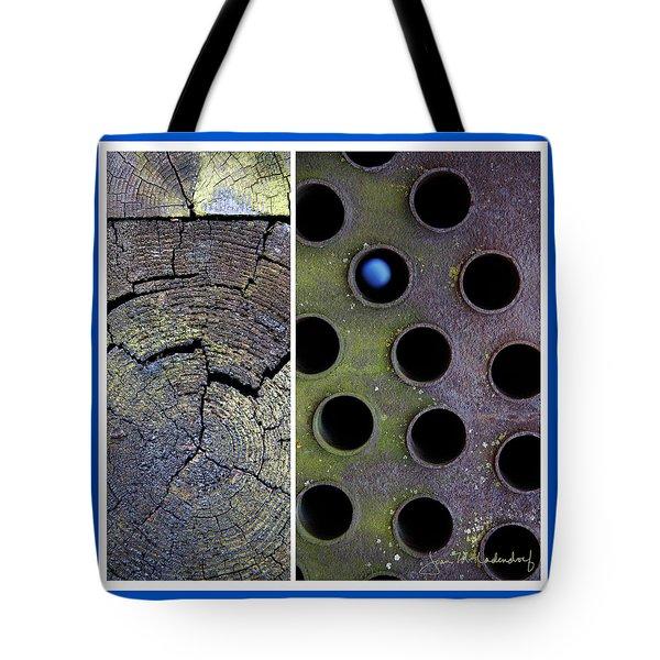 Juxtae #58 Tote Bag by Joan Ladendorf
