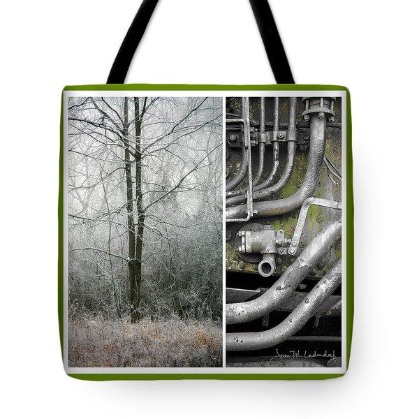 Juxtae #61 Tote Bag by Joan Ladendorf