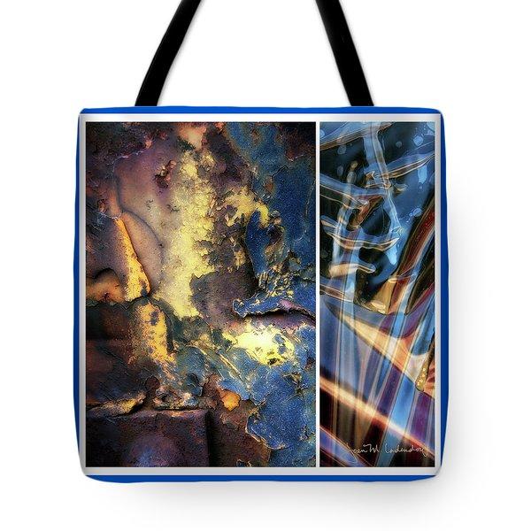 Juxtae #71 Tote Bag by Joan Ladendorf
