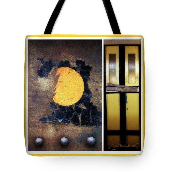 Juxtae #78 Tote Bag by Joan Ladendorf