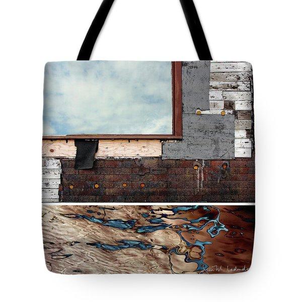 Juxtae #94 Tote Bag by Joan Ladendorf