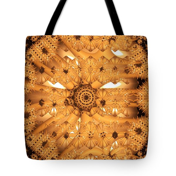 Juxtapose Tote Bag by Ron Bissett
