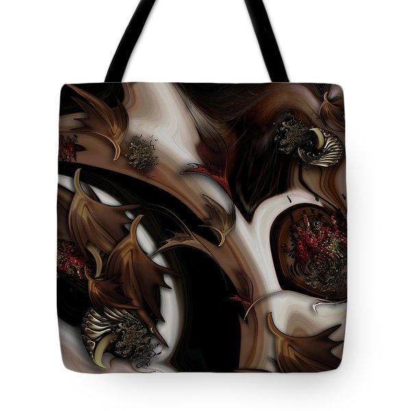 Juxtaposed Nature Tote Bag