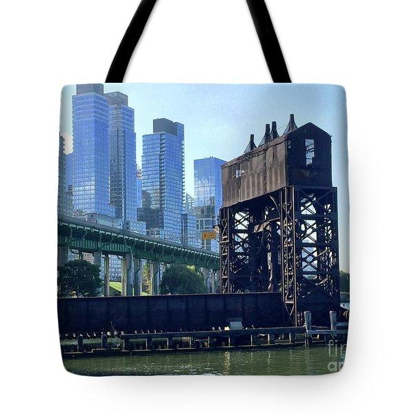 Juxtaposition Tote Bag