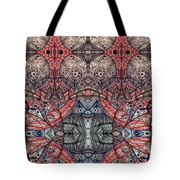 Juxtaposition Three Tote Bag
