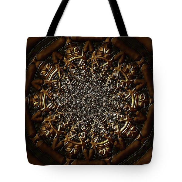 Tote Bag featuring the digital art Jyoti Ahau 209 by Robert Thalmeier