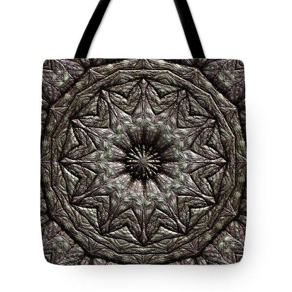 Tote Bag featuring the digital art Jyoti Ahau 213 by Robert Thalmeier
