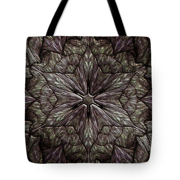 Tote Bag featuring the digital art Jyoti Ahau 220 by Robert Thalmeier