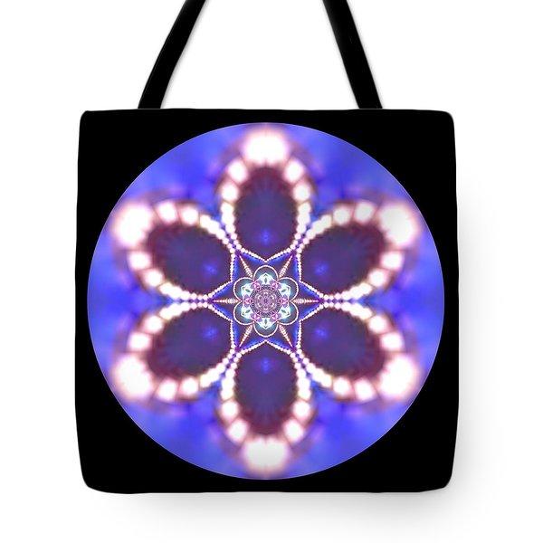 Tote Bag featuring the digital art Jyoti Ahau 24 by Robert Thalmeier