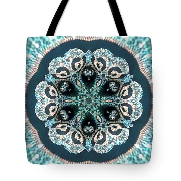 Tote Bag featuring the digital art Jyoti Ahau 50 by Robert Thalmeier