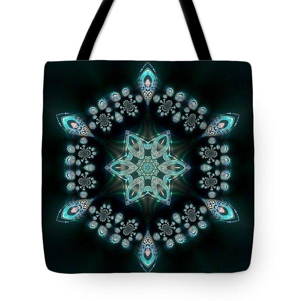 Tote Bag featuring the digital art Jyoti Ahau 58 by Robert Thalmeier