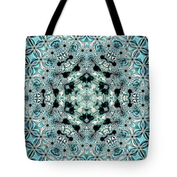 Tote Bag featuring the digital art Jyoti Ahau 996 by Robert Thalmeier