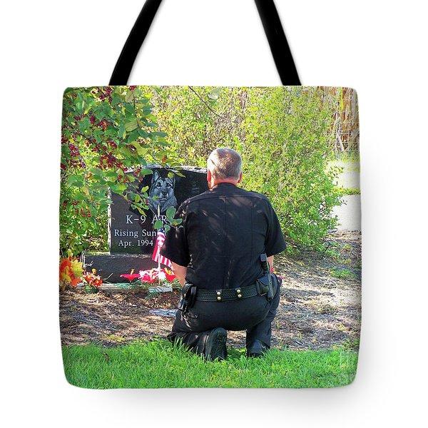 K-9 Arthur Tote Bag