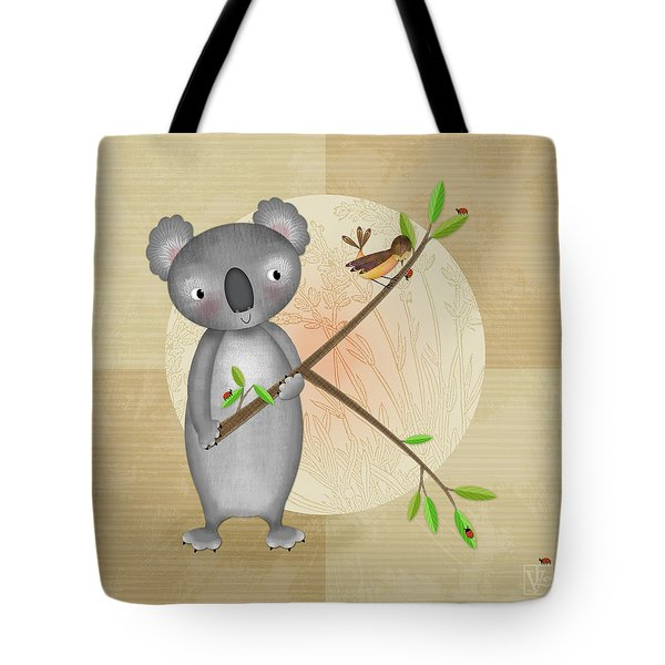 K Is For Koala Tote Bag