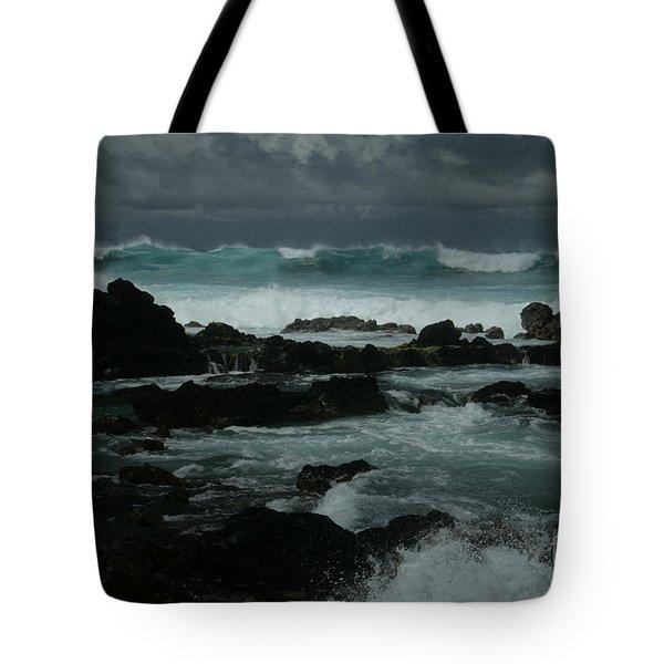 Ka Makani Kaiili Aloha Hookipa Maui Hawaii  Tote Bag