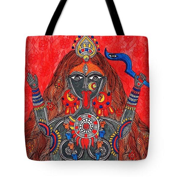 Kaali- The Fierce Form Tote Bag