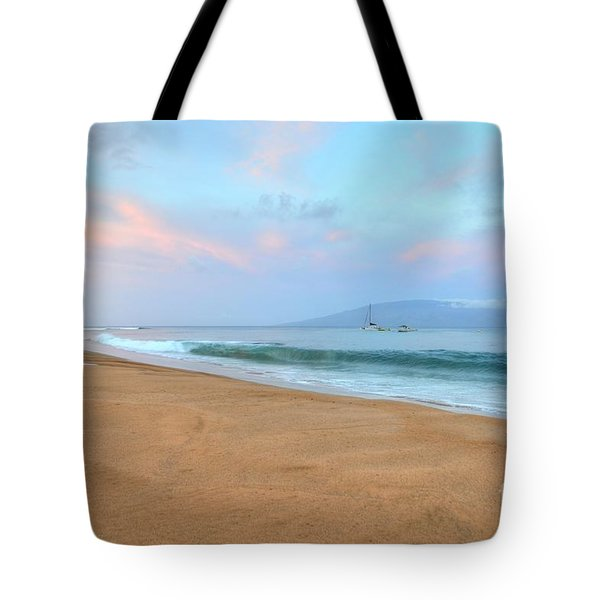 Tote Bag featuring the photograph Ka'anapali Delight  by Kelly Wade