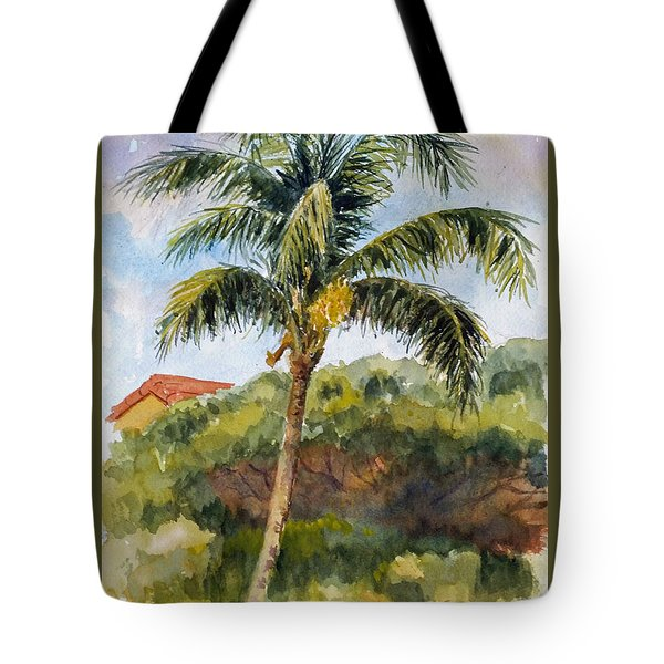 Kaanapali Palm Tote Bag