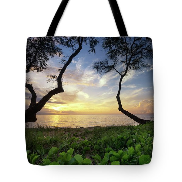 Ka'anapali Sunset Tote Bag