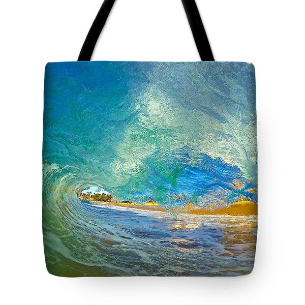Kaanapali Wave Tote Bag