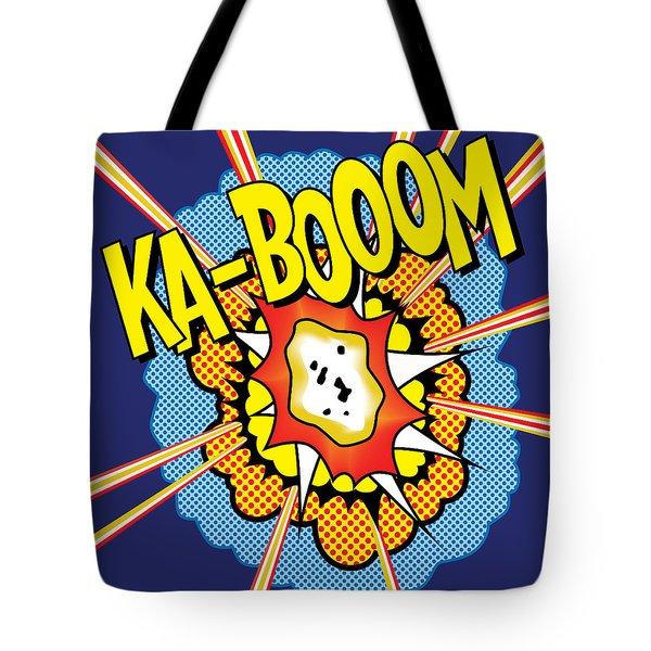 Kabooom Tote Bag