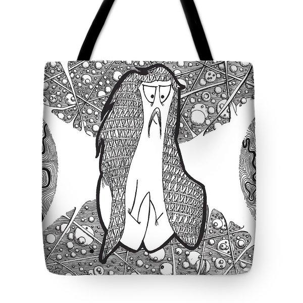 Kabuki Spaceghost Tote Bag