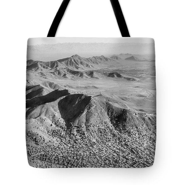 Kabul Mountainous Urban Sprawl Tote Bag