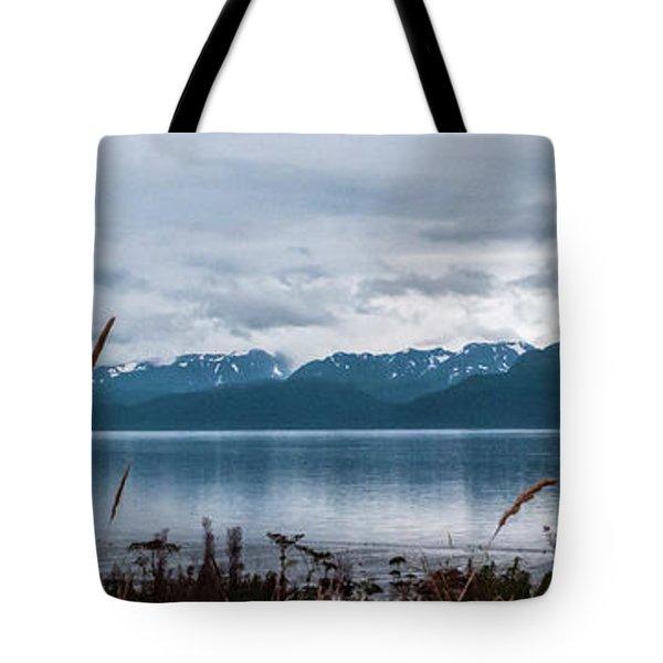 Kachemak Bay Pano Tote Bag