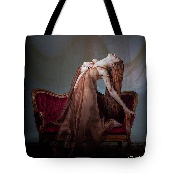 Tote Bag featuring the photograph Kaela Kino Skyward by Rikk Flohr