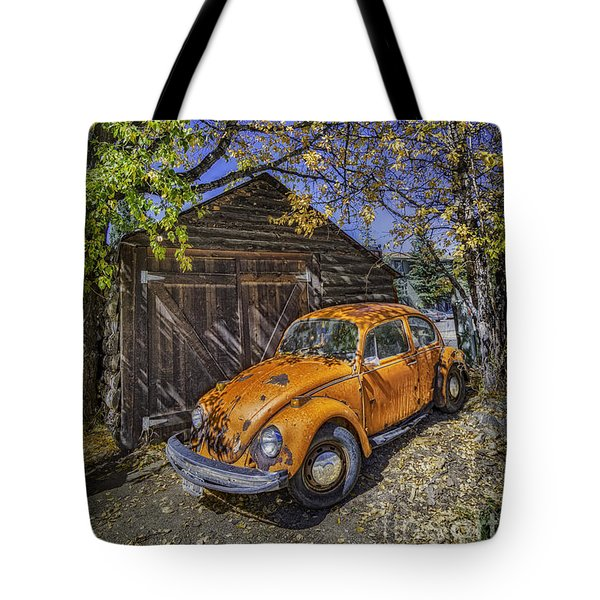 Tote Bag featuring the photograph Kafer Beetle by Bitter Buffalo Photography