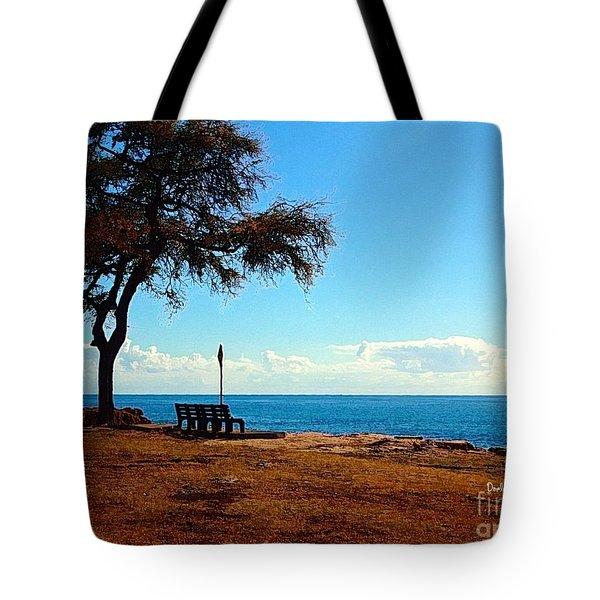 Kahe Point Beach Park Tote Bag