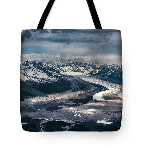 Kahiltna Glacier Tote Bag