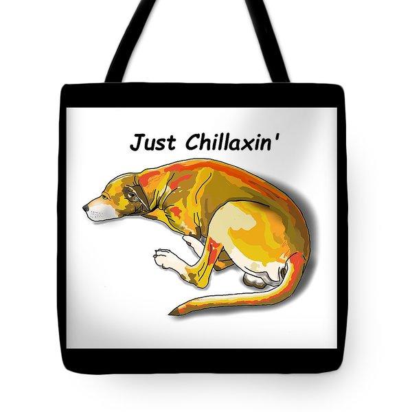 Kai Chillaxin' Tote Bag