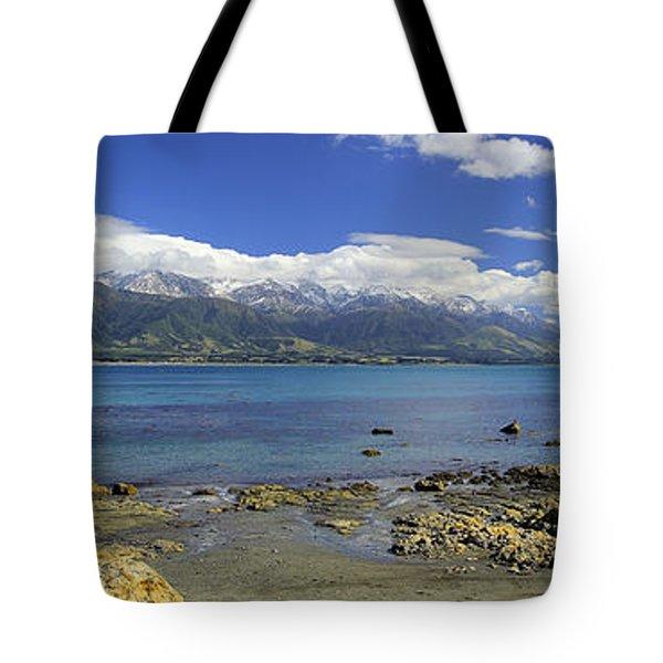 Kaikoura Panorama Tote Bag