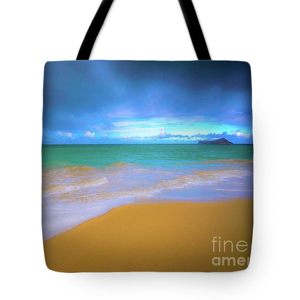 Seascape, Kailua - Lanikai, Oahu, Hawaii Tote Bag