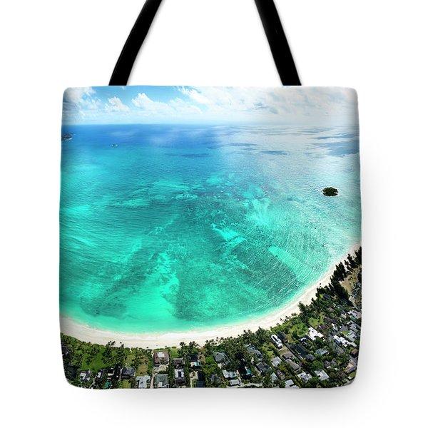 Kailua - Lanikai Overview Tote Bag