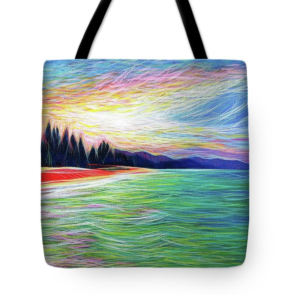 Kailua Surreal Tote Bag