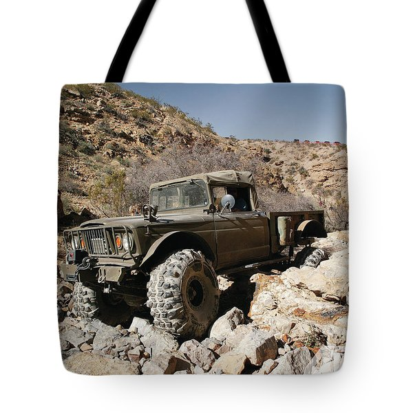 Kaiser Jeep M715 Tote Bag