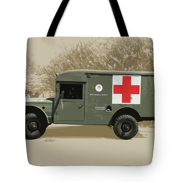Kaiser Jeep M725 Army Tote Bag