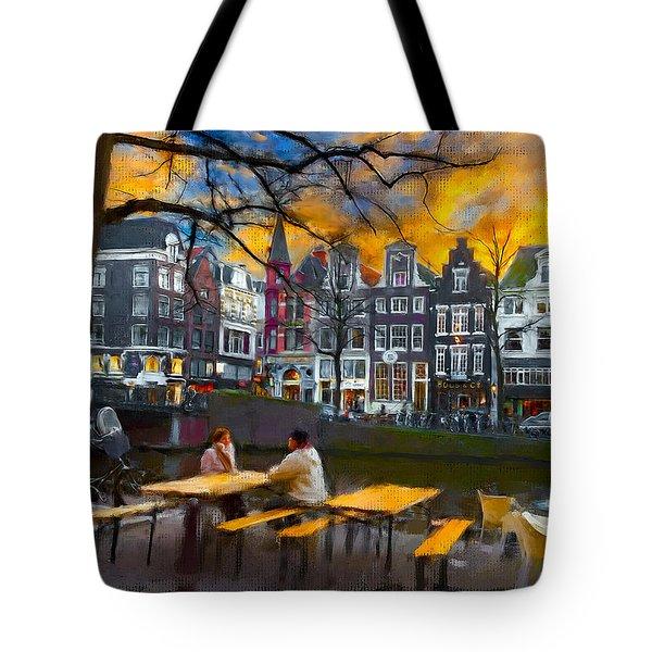 Kaizersgracht 451. Amsterdam Tote Bag