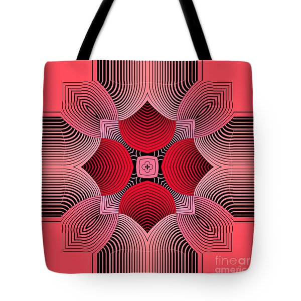 Tote Bag featuring the digital art Kal - 36c77 by Variance Collections