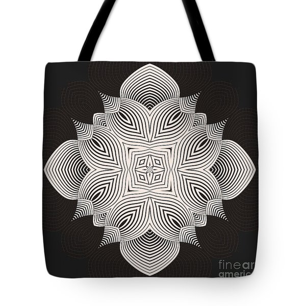 Tote Bag featuring the digital art Kal - 71c89 by Variance Collections