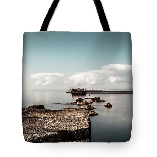 Kalamata Port / Greece Tote Bag by Stavros Argyropoulos