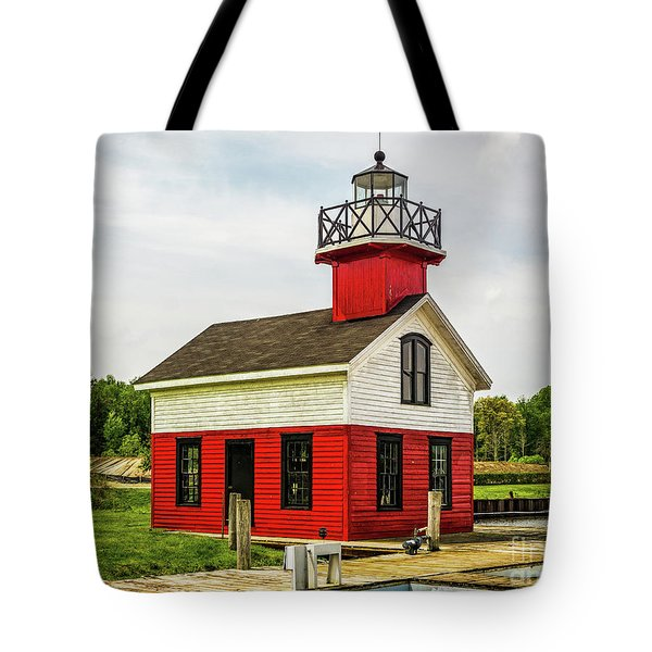 Kalamazoo Lighthouse Tote Bag