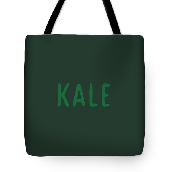Kale Tote Bag by Cortney Herron
