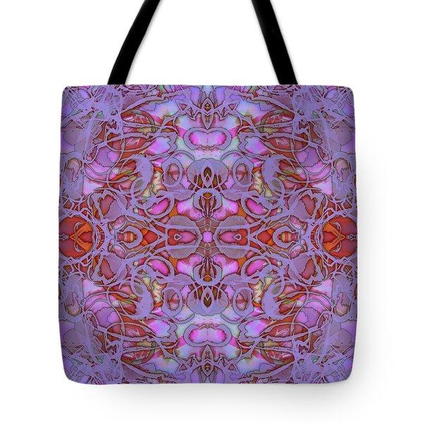 Kaleid Abstract Focus Tote Bag