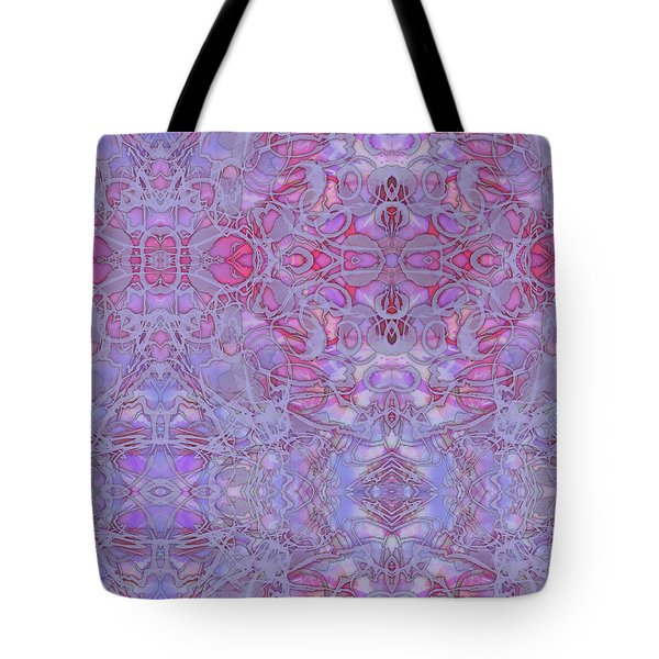 Kaleid Abstract Halo Tote Bag